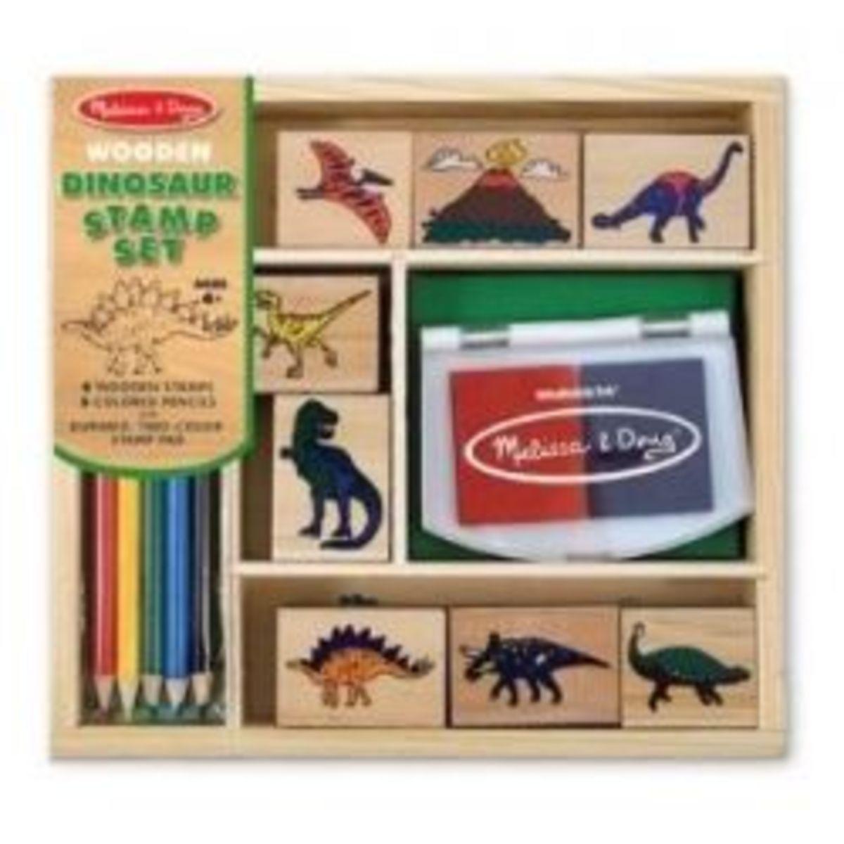Dinosaur Stamp Set - only $7.99!!!