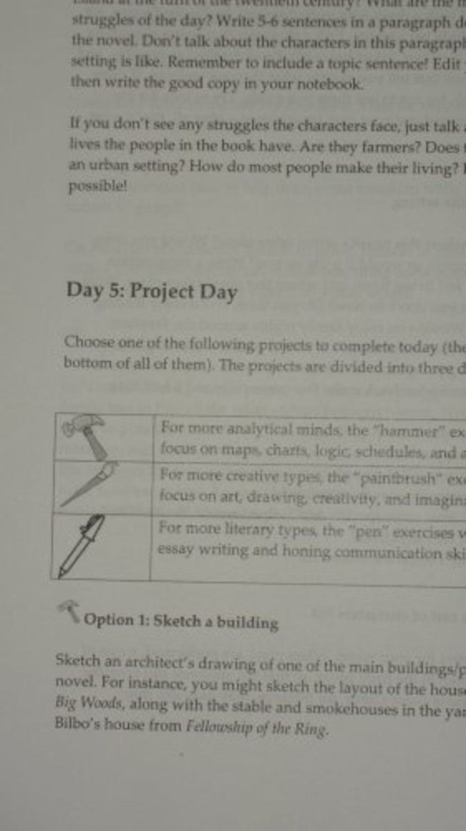 Day 5 is Project Day