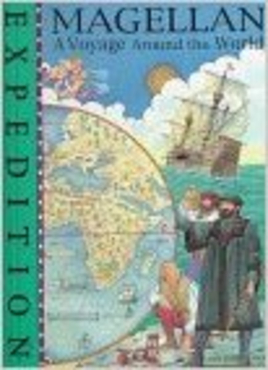 Magellan: A Voyage Around the World (Expedition) by Fiona MacDonald