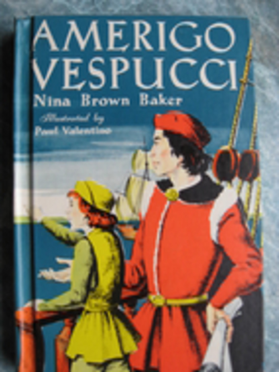 Amerigo Vespucci by Nina Brown Baker