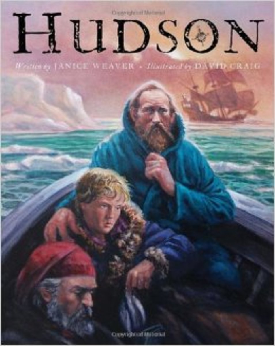 Hudson by Janice Weaver - Images are from amazon.com.