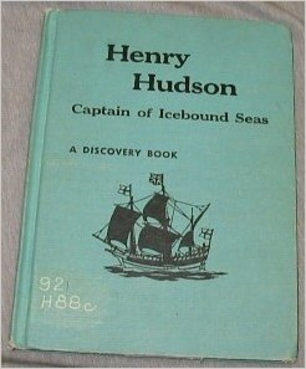 Henry Hudson: Captain of the Ice- Bound Seas by Carl Carmer