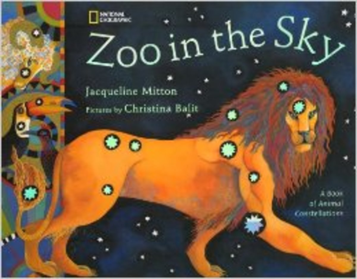 Zoo in the Sky: A Book of Animal Constellations by Jacqueline Mitton  - All images are from amazon.com.