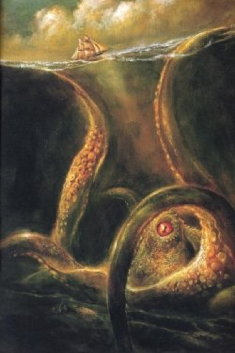 Squid Myths: From Kraken to Cthulhu