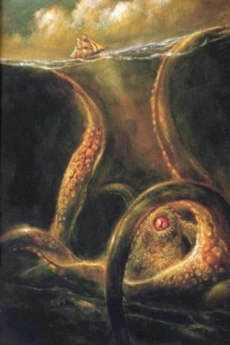 Kraken, © Hugo Award-Winning artist Bob Eggleton, used with permission. All Rights Reserved.