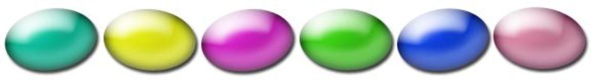 Easter Egg Border Free