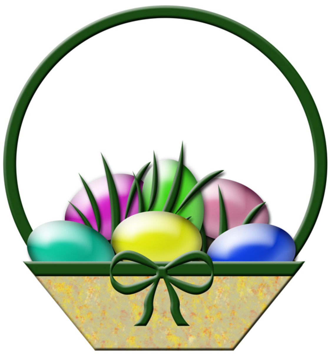 Free Easter Basket Clip Art