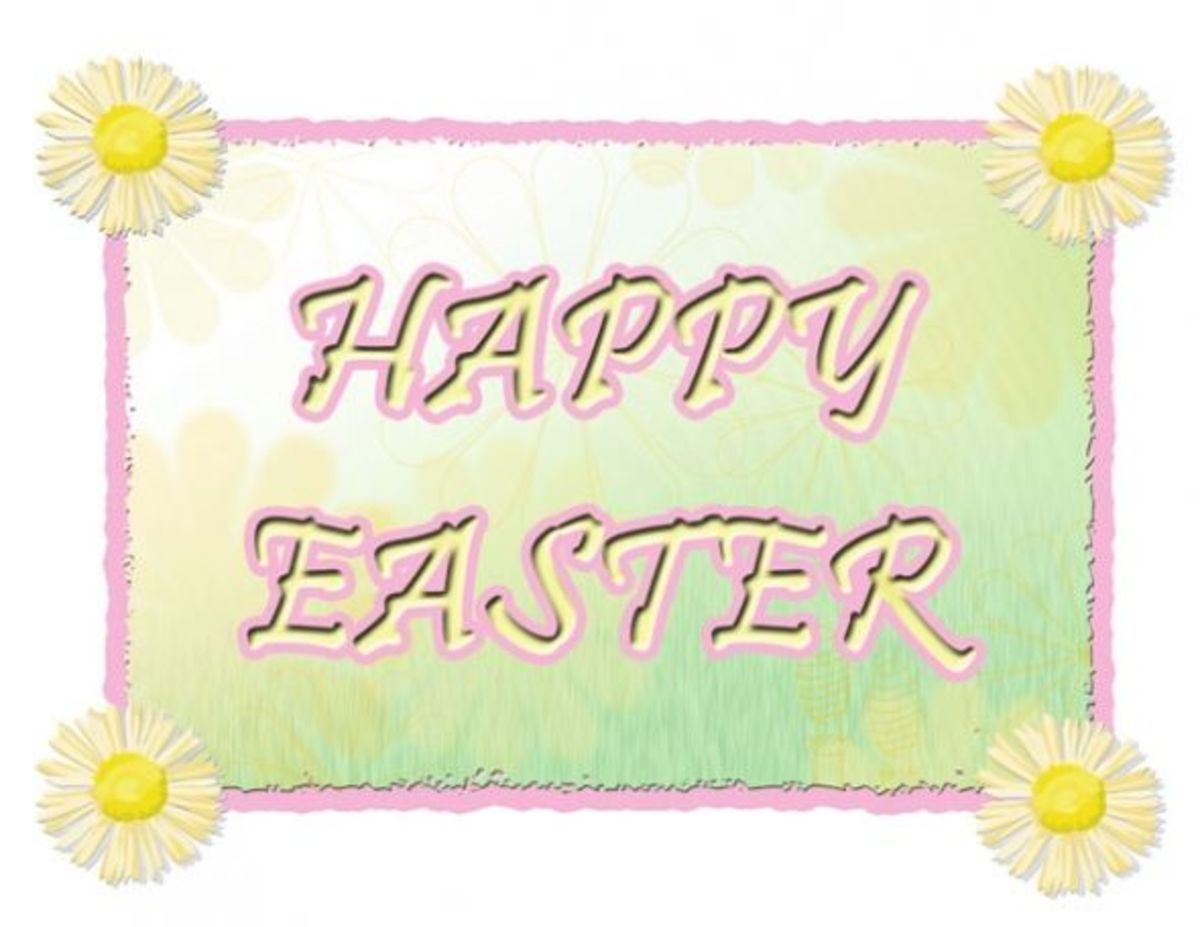 Happy Easter Clip Art Free