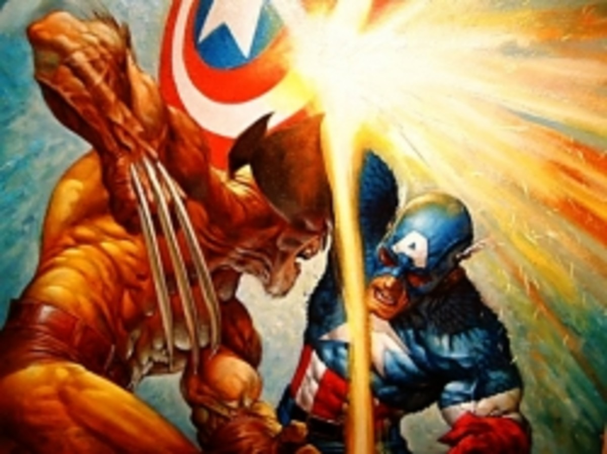 Captain America Vs. Wolverine
