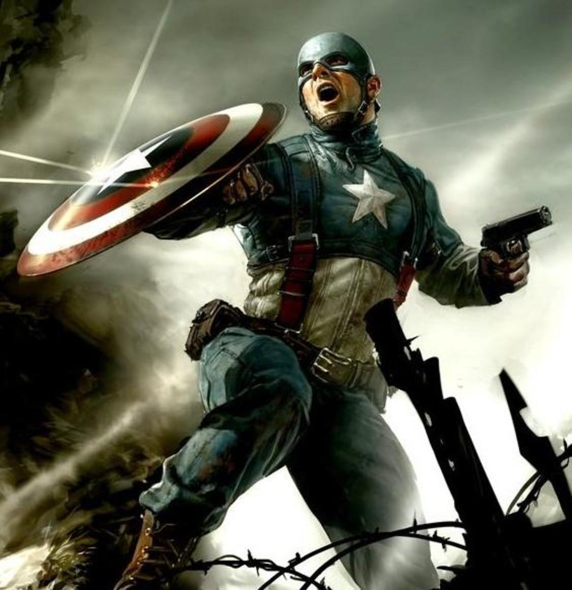 Captain America in World War II