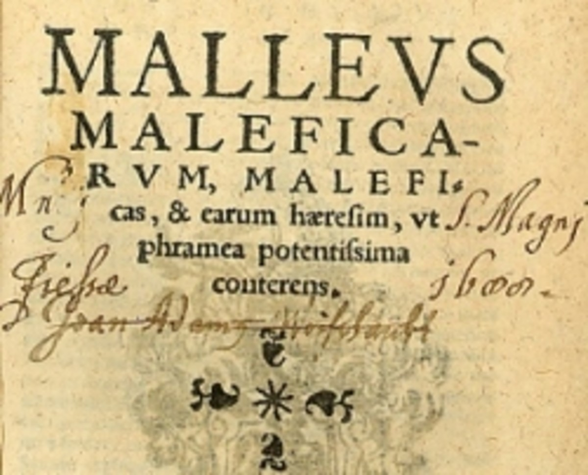Malleus Maleficarum (The Hammer of Witches)