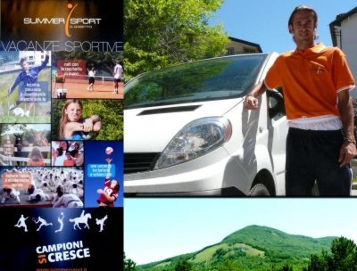 FRISBEE: Weekly Shot! (Summer Sport Frisbee Camp in Rocca Raso - Fabrizio Nicco on the right - photos Fabio Sanna)