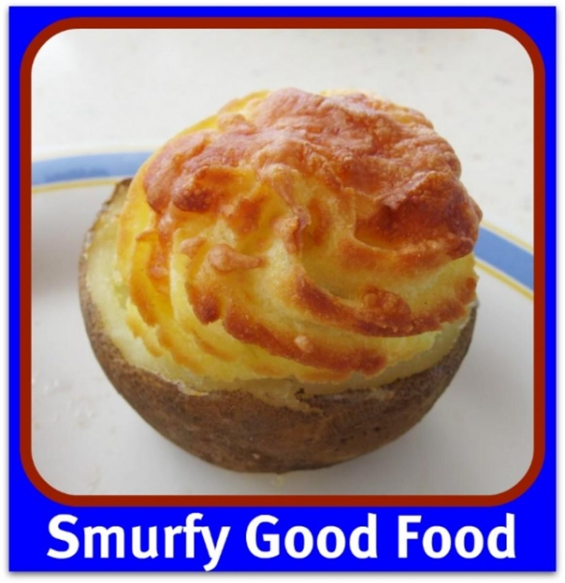 Smurfday Smurfy Good Food Photo by Kathy McGraw