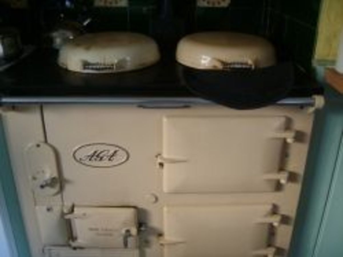 The cooker reassembled and working!