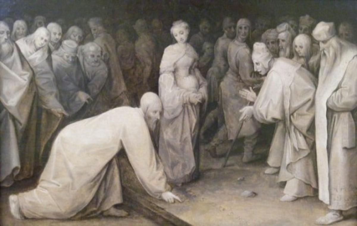 Jan Brueghel the Elder-Christus und die Ehebrecherin