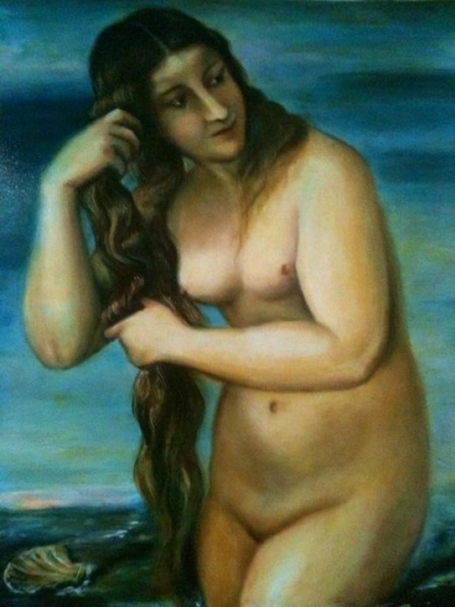 Venus Anadyomene - complete!
