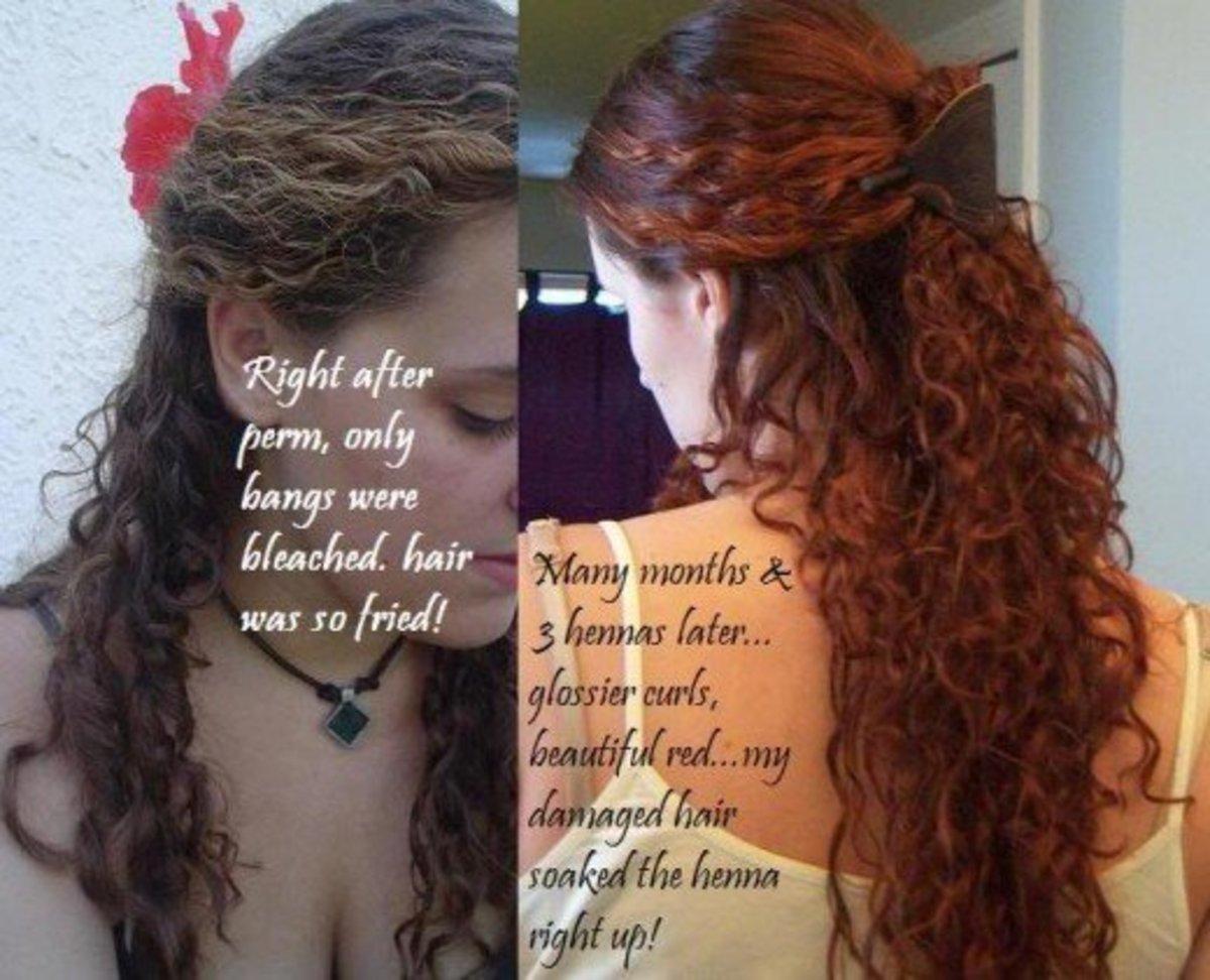 Henna Results