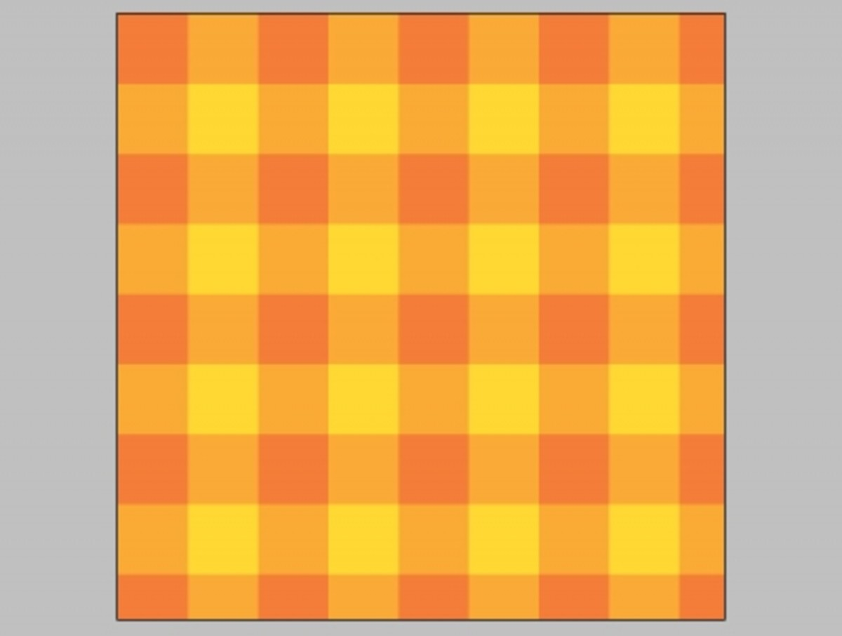 Photoshop Pattern Tutorial Gingham Check