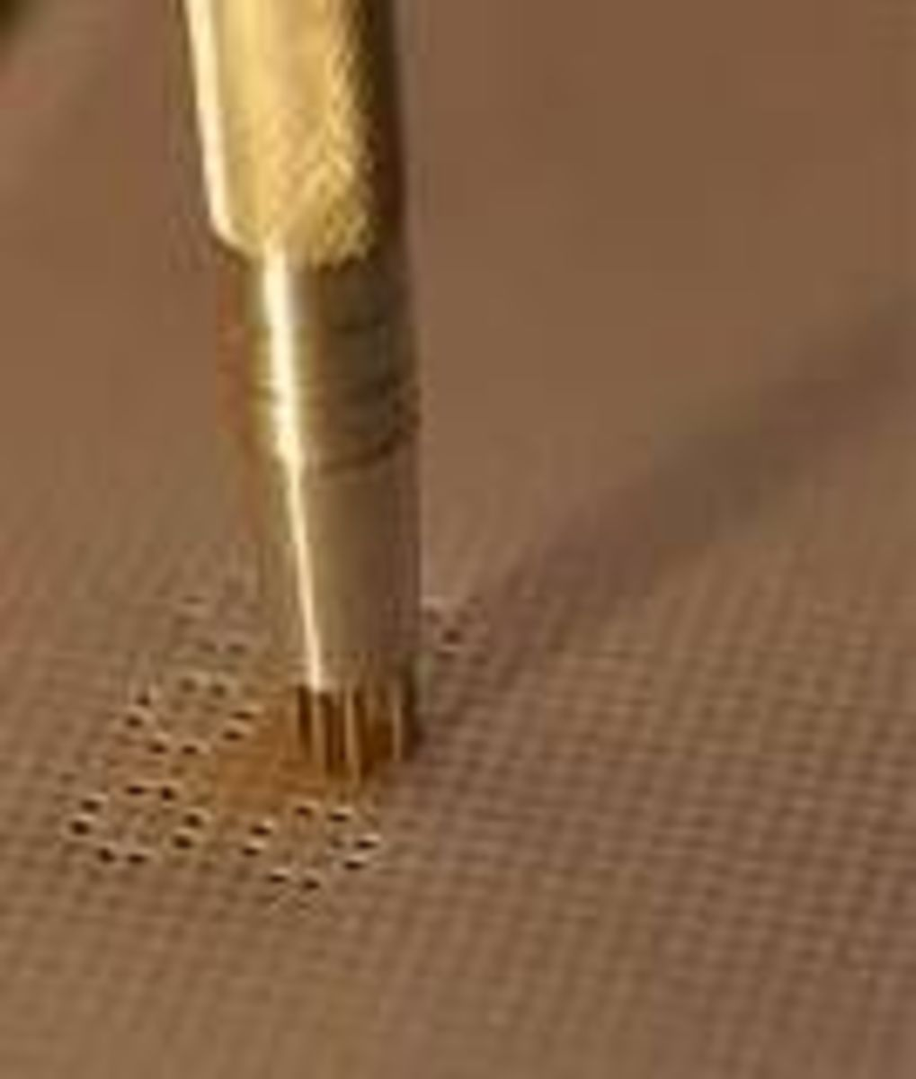 parchment perforating tools