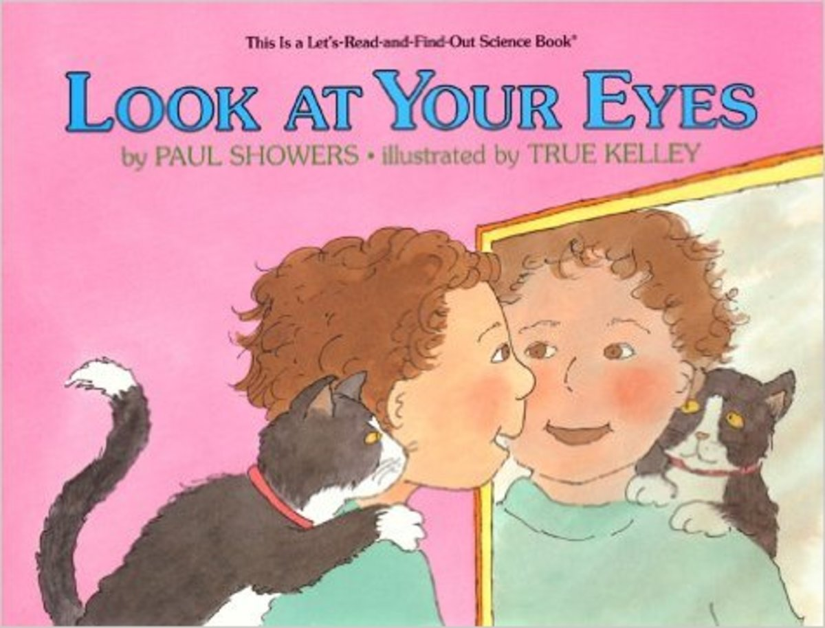 Look at Your Eyes (Let's-Read-and-Find Out Science Book) by Paul Showers