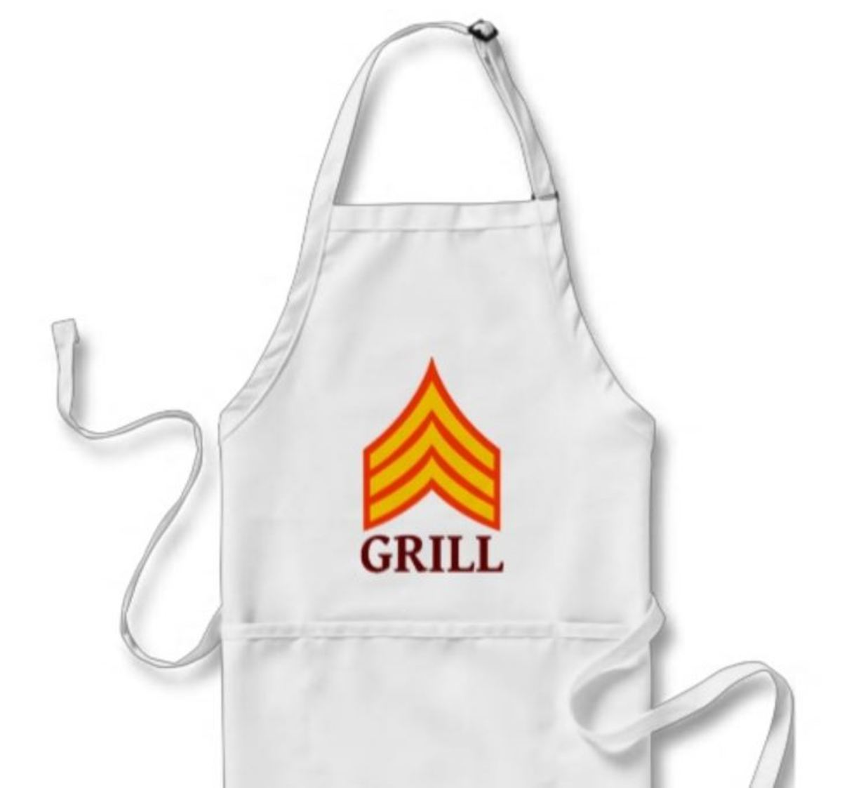 Grill Sargent BBQ apron, great Dad or Grandfather gift
