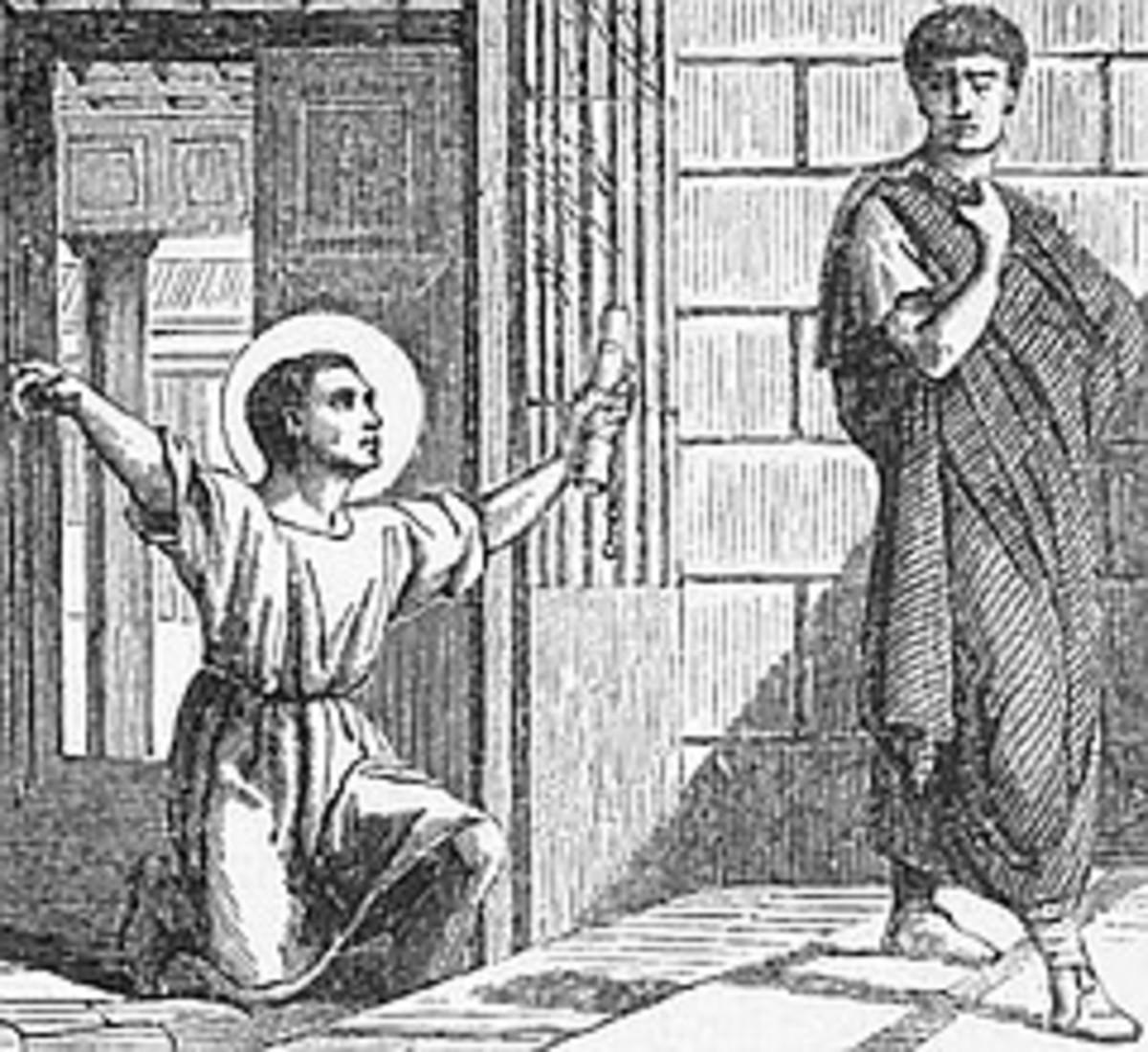 Onesimus returns to Philemon
