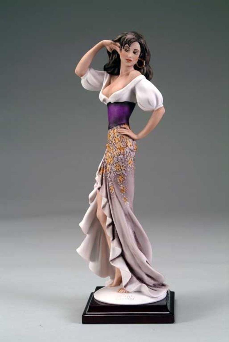 Armani Figurine Gypsy