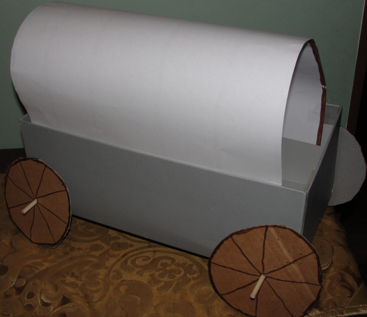 Shoe box Prairie Wagon