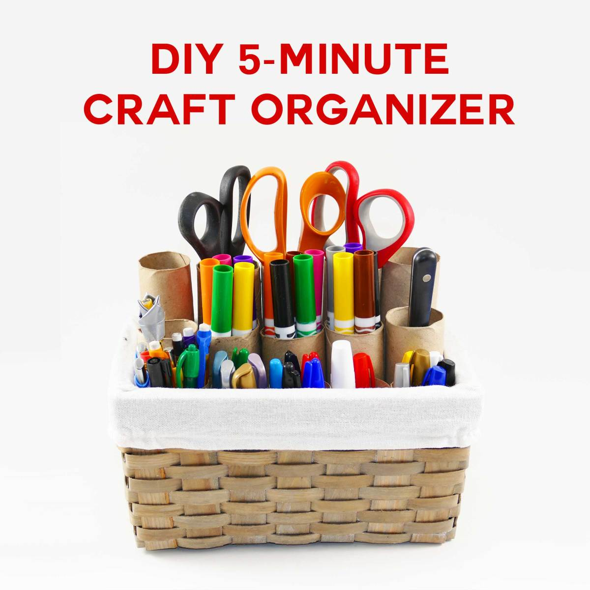 The easiest ever tool organizer. You can literally make this in 5 minutes