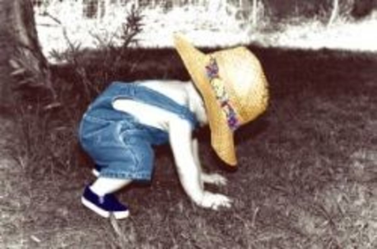 Blind toddlers need opportunities to walk on uneven surfaces