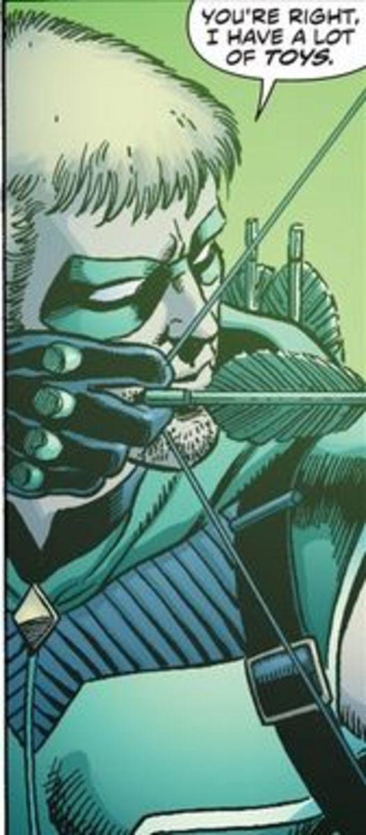 Green Arrow #1 (2011), excerpt