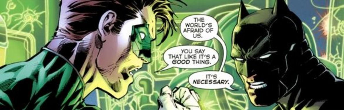 Justice League #1 (2011), excerpt