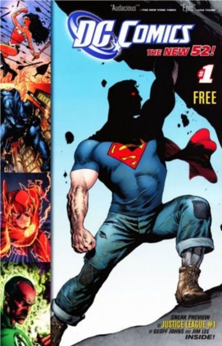 The New 52 #1, A Free Comic Introduction