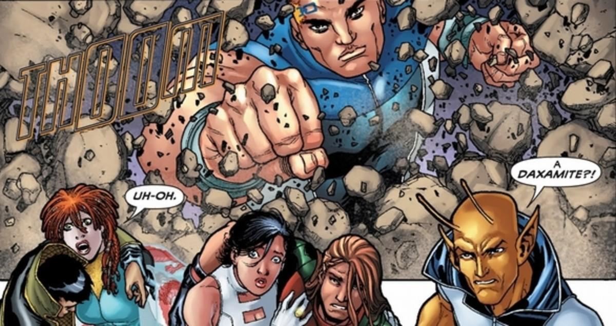 Legion of Super-Heroes, excerpt