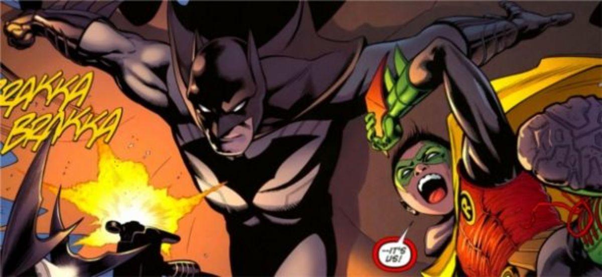 Batman And Robin #1, excerpt