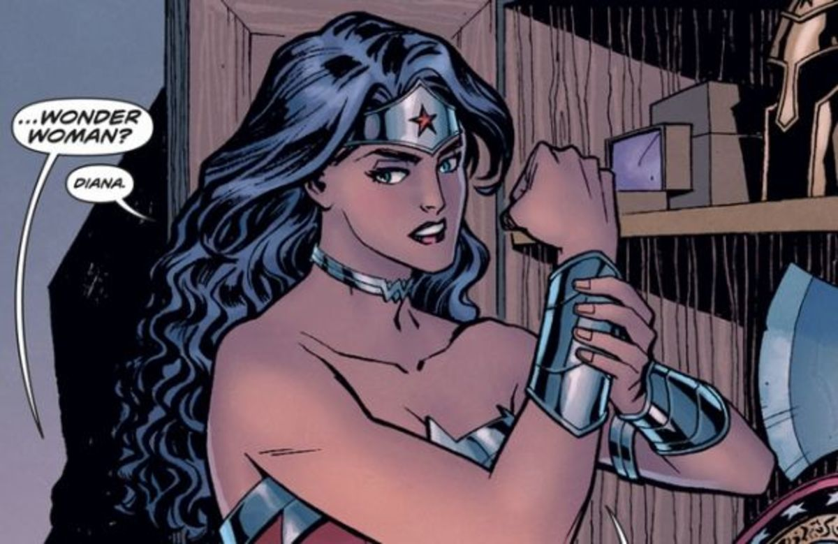Wonder Woman #1, excerpt