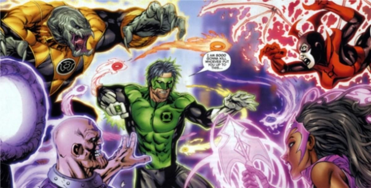 Green Lantern: New Guardians #1, excerpt