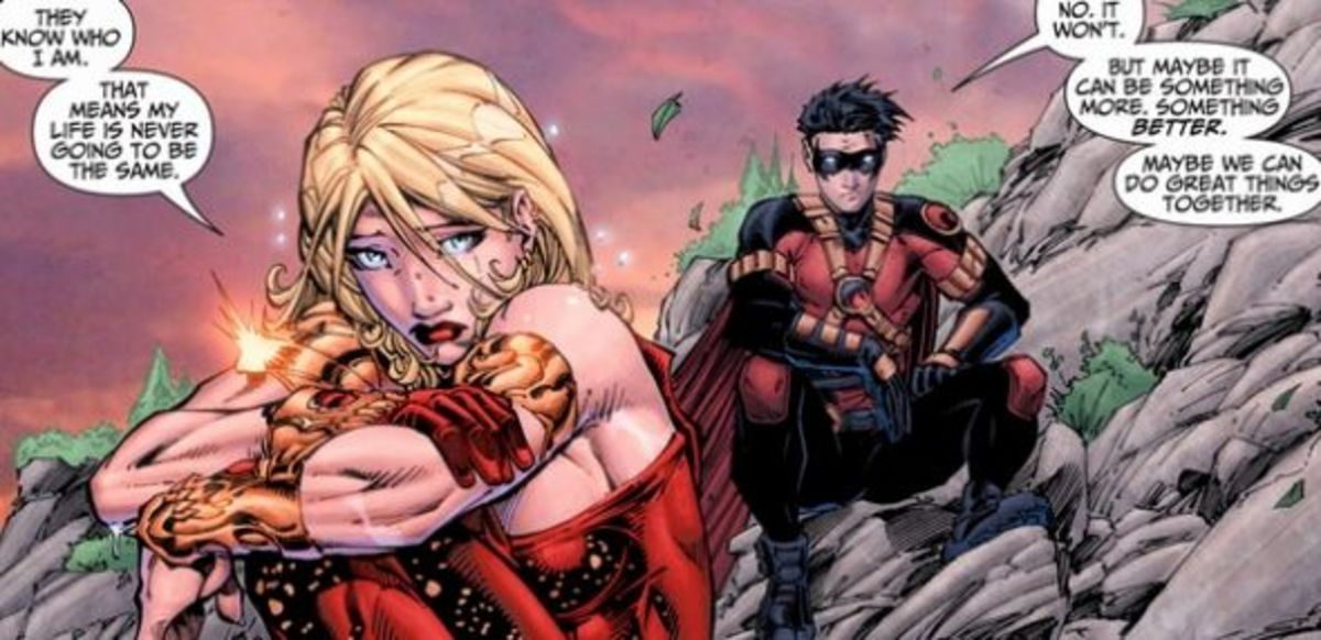 Teen Titans #1, excerpt