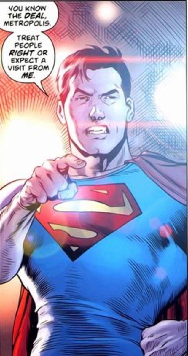 Action Comics #1 (2011), excerpt