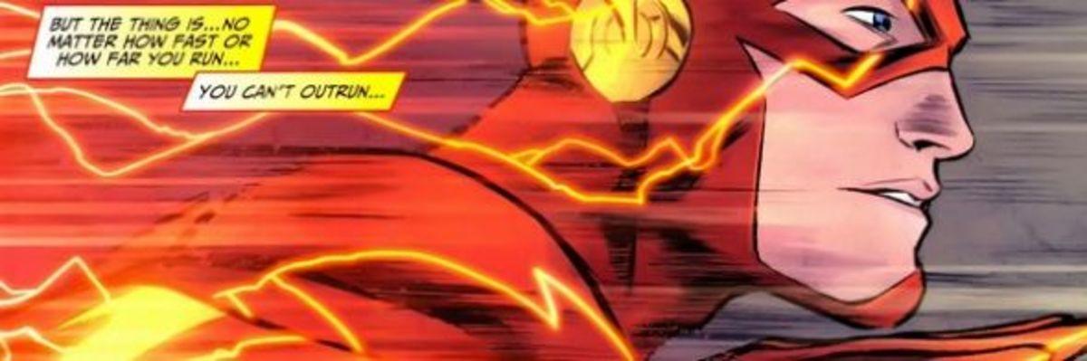 The Flash #1, excerpt
