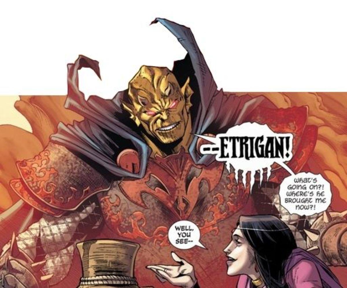 Demon Knights #1, excerpt
