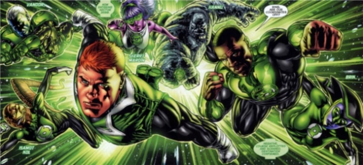 Green Lantern Corps #1, excerpt