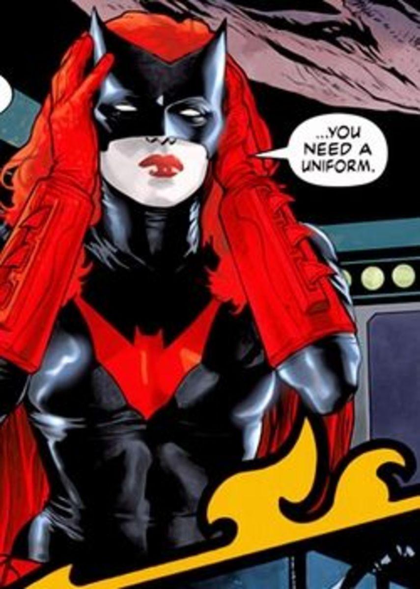 Batwoman #1, excerpt