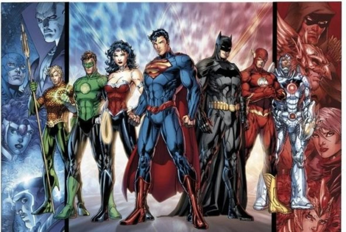 A New Look at The Justice League