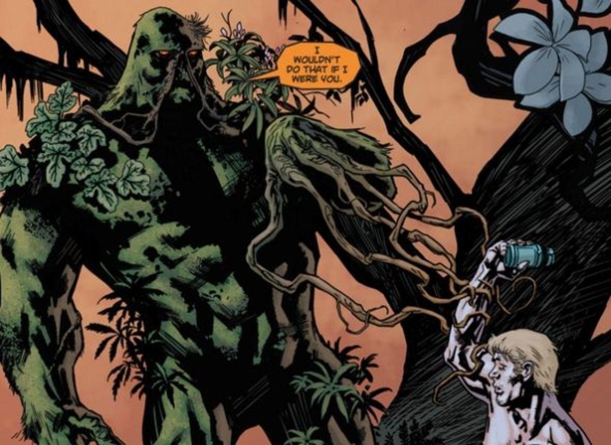 Swamp Thing #1, excerpt (2011)