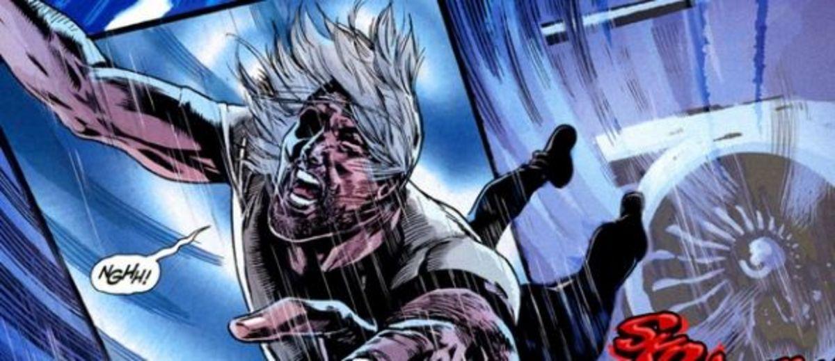 Resurrection Man #1 (2011), excerpt