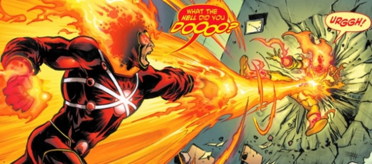 The Fury of Firestorm: The Nuclear Man #1, excerpt