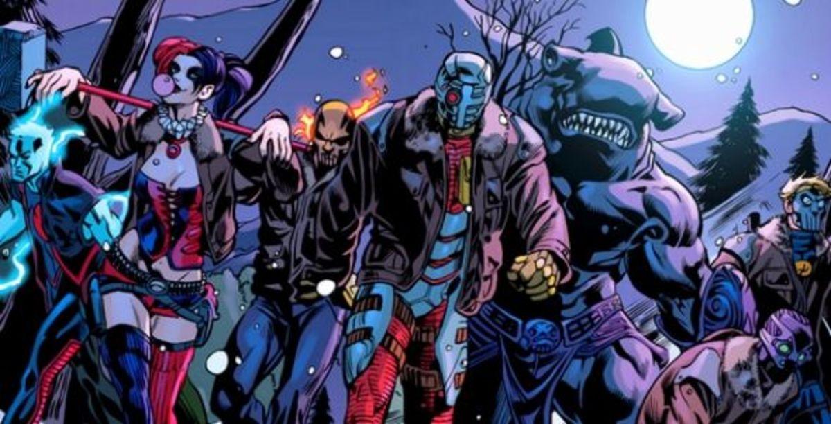 Suicide Squad #1 (2011), excerpt