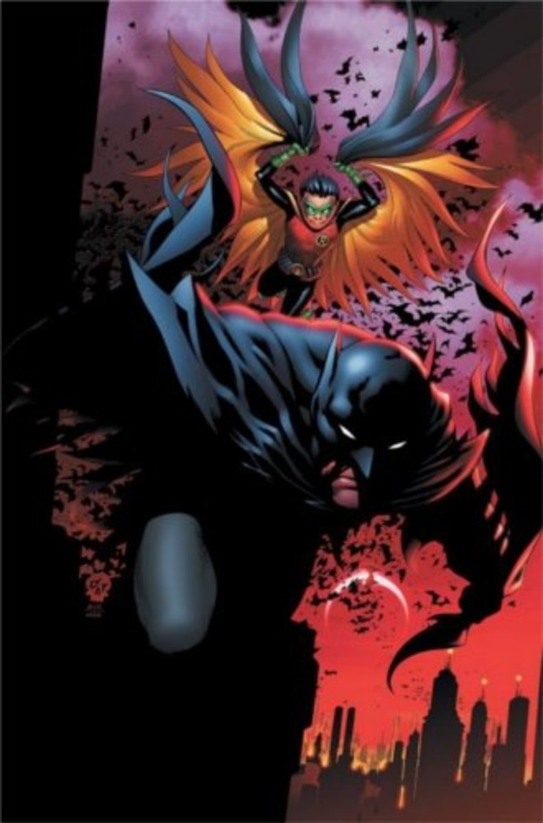 Batman and Robin #1, CoverArt