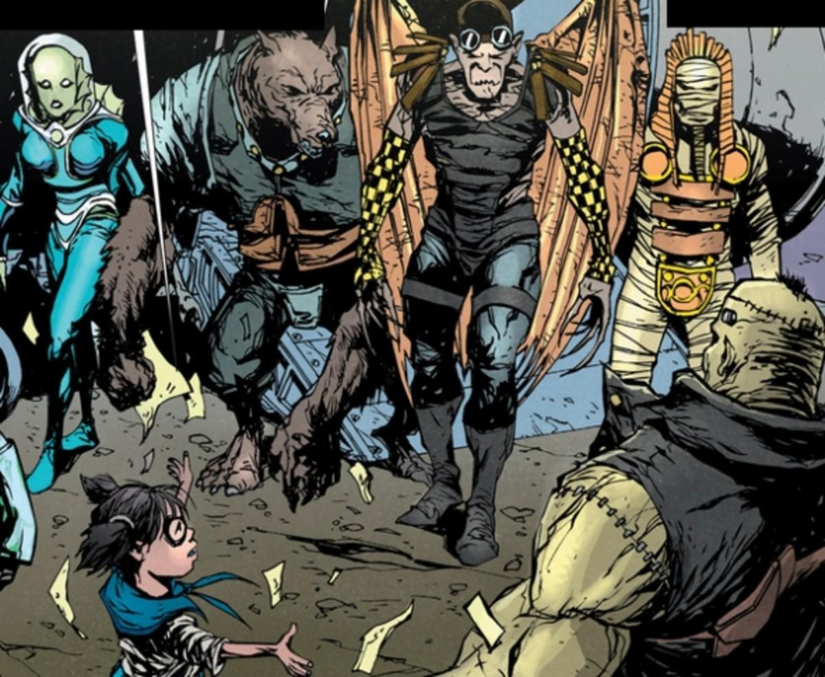 Frankenstein, Agent of SHADE #1, excerpt